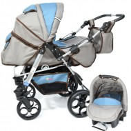 Skutt ROCADA 3 in 1 Grey/Blue