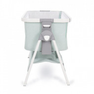 Patut Co-Sleeper Nanna Green Melange Aluminium
