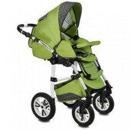 Carucior Flamingo Easy Drive 3in1 Vessanti -Green
