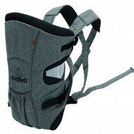 Marsupiu bidirectional Asalvo BABY CARRIER Grey Melange