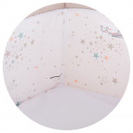 Patut Co-Sleeper Chipolino Close To Me beige printed stars inside