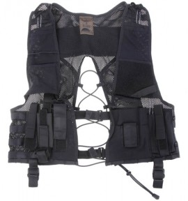 Covert equipment vest Black / Dold utrustningsväst Svart , STAT no.: 62032310 images