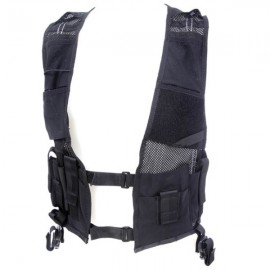 Covert equipment vest Black / Dold utrustningsväst Svart , STAT no.: 62032310 images
