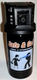 Safe & Go! ® Licenfri Personskyddsspray /Self Defense Colour Spray STAT no.: 65061010