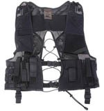 Covert equipment vest Black / Dold utrustningsväst Svart , STAT no.: 62032310