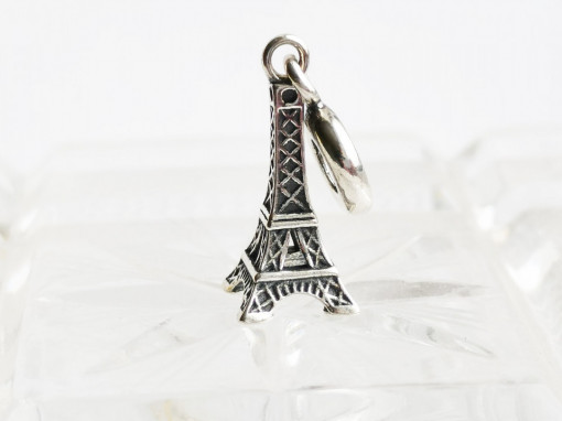 Charm argint 925 Bonjour