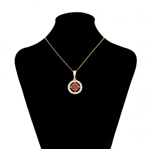 "Pandantiv 14 K ""Flower Medalion"""