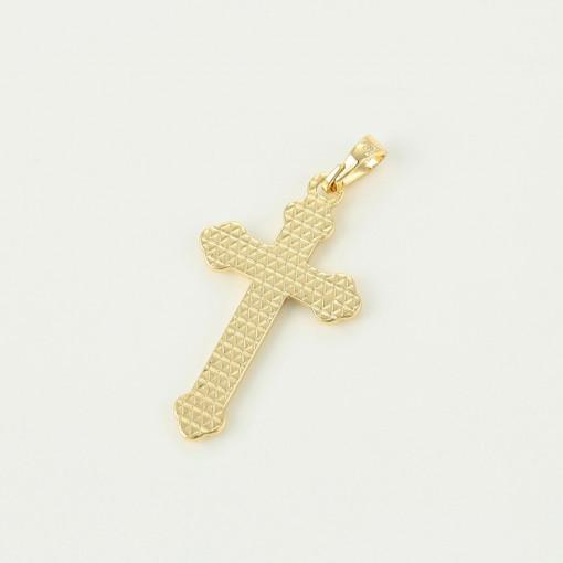 Pandantiv Cruce cu model 14 K