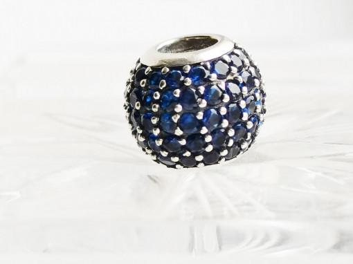 Charm argint 925 Aqua