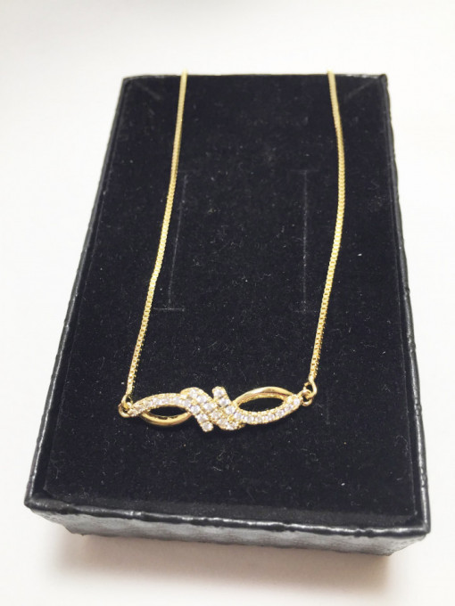 "Bratara placata cu aur de 14K, ""Athena"""