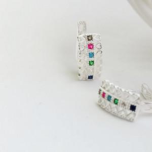 925 Petra silver earrings