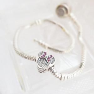 925 silver charm - Minnie