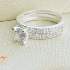 Inel Argint 925 Crystal