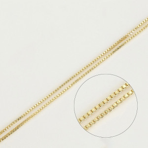 Lantisor 14 K za stransa 45-50 cm