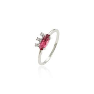 Rhodium ring