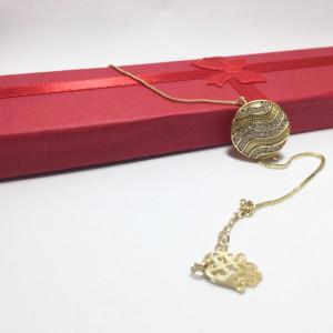 "Bratara placata cu aur de 14K, ""Artemis"""