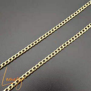 Chain plated with 14K gold -Martin
