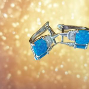 Edith 925 Silver Earrings