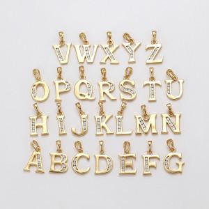 """Pandantiv 14 K """"Letters"""""""