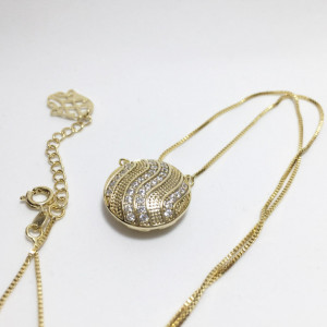 14K gold plated chain,
