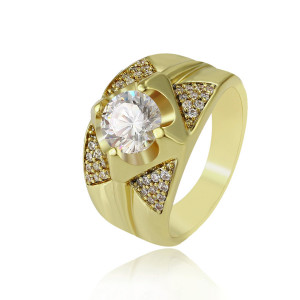 14K vergoldeter Ring