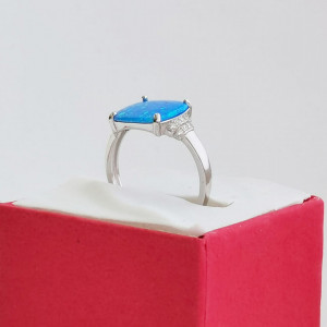 925 Dutchess silver ring