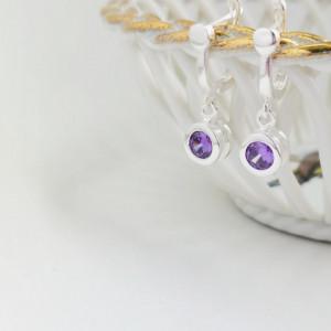 925 Ruxandra silver earrings