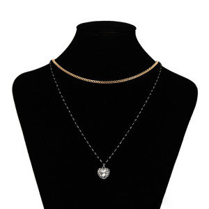 Doppelte Halskette