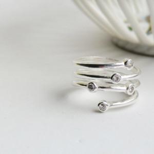 Inel argint 925 Clara
