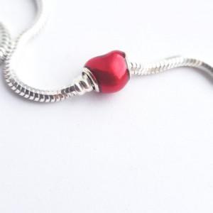 925 silver charm -Heart