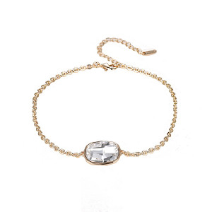 Bracelet 18 K gold plated Swarovski Cristal