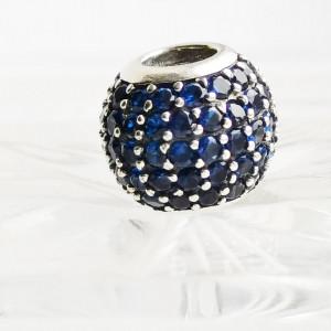 Charm silver 925 Aqua