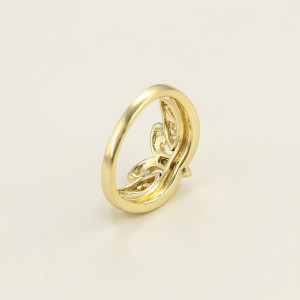 Inel 14 K Crown Jewel