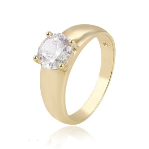 14 K gold plated ring