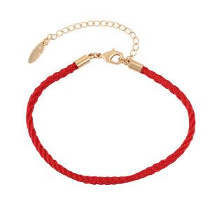 Trinket bracelet plated with 18 K