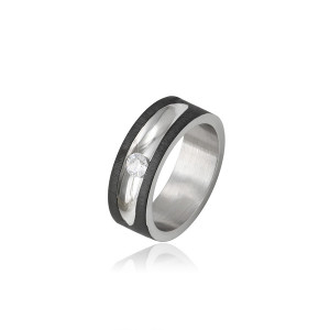Multicolored wedding ring