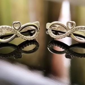 Cercei Argint 925 Heart