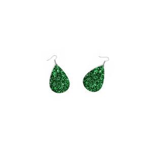 """Cercei cu model """" Green Shine"""""""