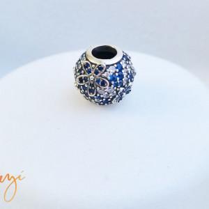 Charm argint 925 Blue