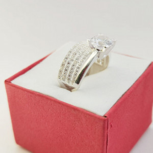 925 Silver Ring Claude