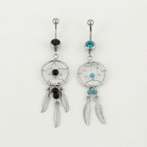Bauchnabel Ring Dreamcatcher