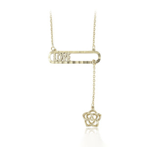 Chain plated with 14 K