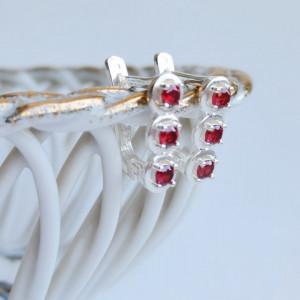 Emily 925 Silver Earrings