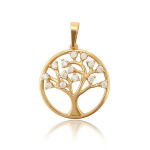 "Pandantiv 18 K ""Cherry Tree"""
