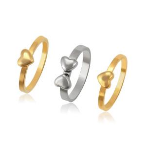 Multicolored ring set