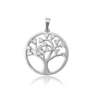 """Pandantiv rodiat """"Tea Tree"""""""