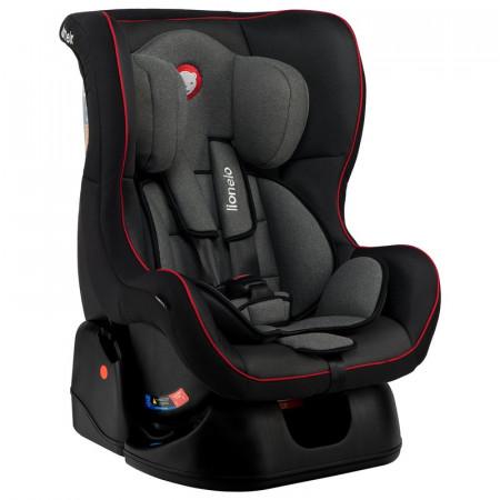 Lionelo - Scaun auto copii 0-18 Kg Liam, Sporty Black