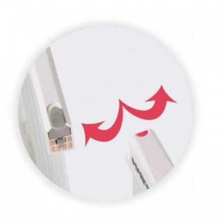 Springos - Poarta de siguranta prin presiune Zion 83-92 cm