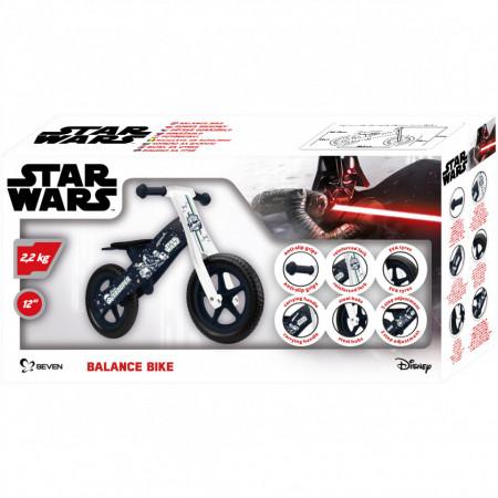 Bicicleta din lemn fara pedale 12 Star Wars Stormtrooper Seven SV9913
