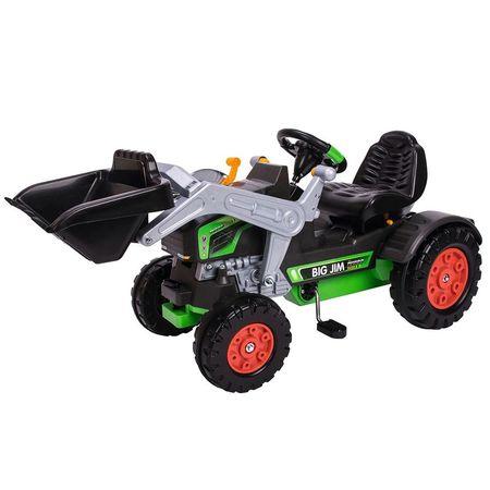 Tractor cu pedale Big Jim Turbo